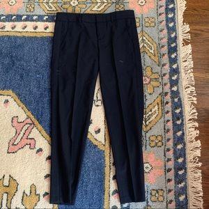 Vince navy cropped slacks 2